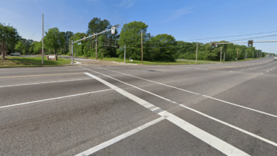 Photo of Pedestrian Dies After Being Hit by Car at Intersection of Winchester
