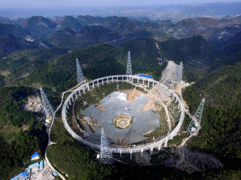 China opens world's largest radio telescope to foreign scientists - La Prensa Latina Media