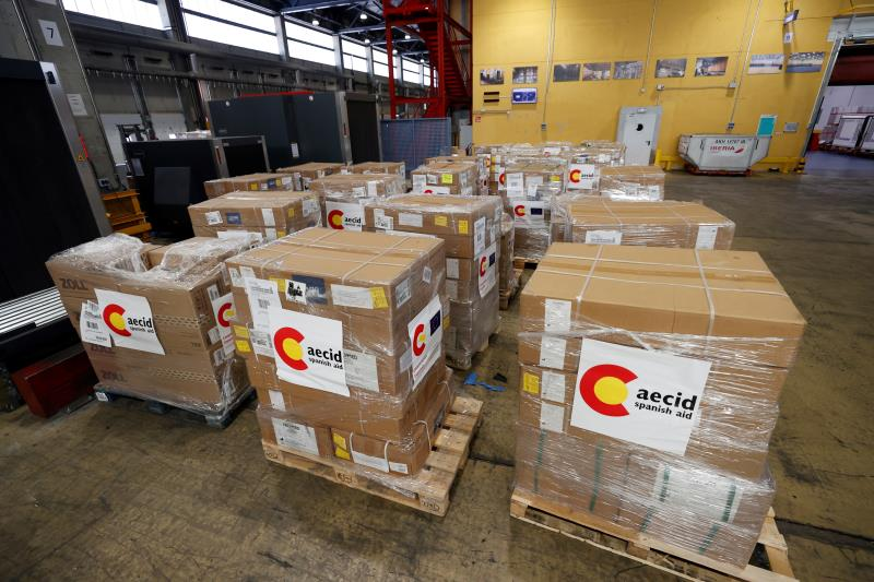Spain sends medical supplies to Covid-blighted India