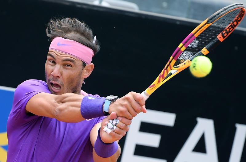 Nadal battles past Zverev to reach Italian Open semifinals