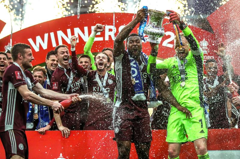 Leicester City beat Chelsea to win FA Cup