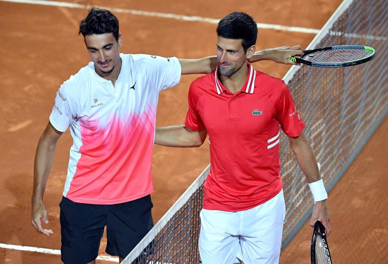 Djokovic advances to Italian Open final against Nadal