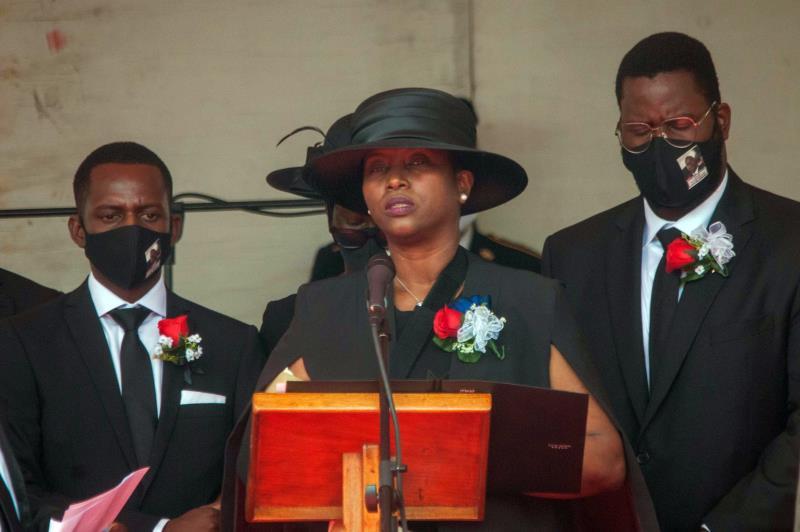 Disturbances mar funeral of Haiti's slain president