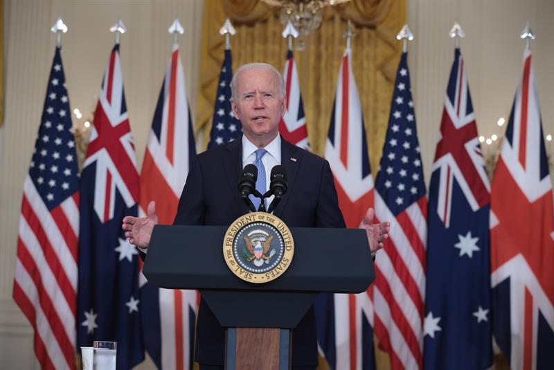 US, Australia, UK sign historic defense pact to counter China